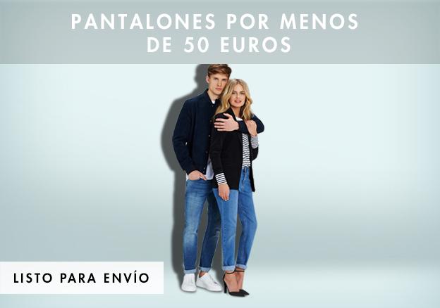 Pantalones por menos de 50 euros!