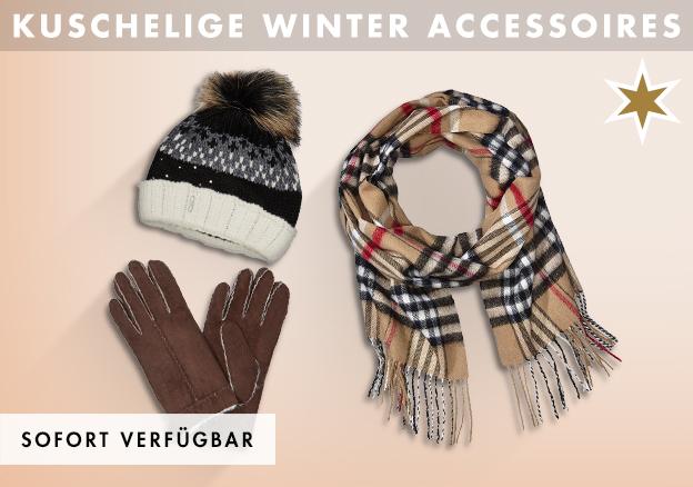 Kuschelige Winter Accessoires