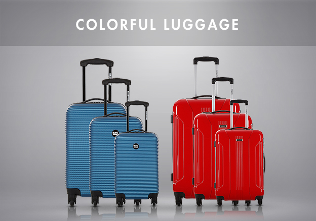 Colorful luggage!