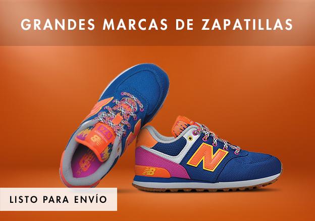 Grandes marcas de zapatillas!