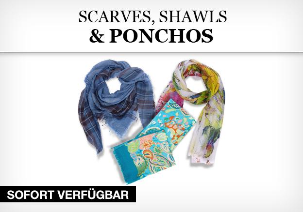Scarves, Shawls & Ponchos
