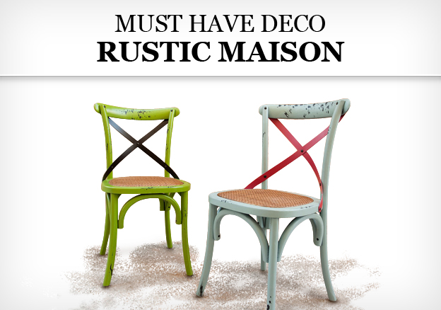 Must Have Deco: Rustic Maison!