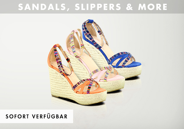 Sandals, Slippers & more