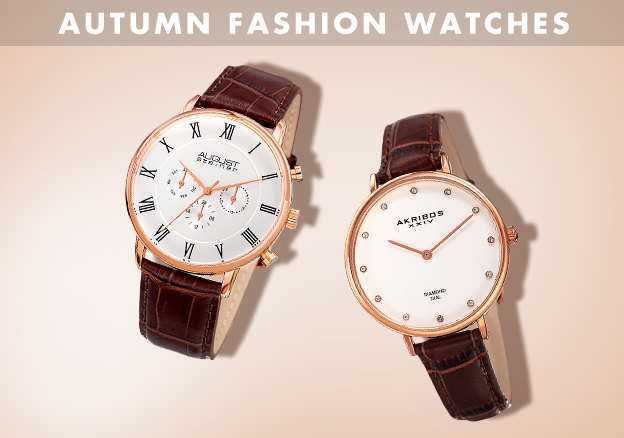 Autumn Fashion Watches