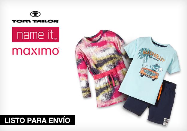 Tom Tailor Kids, Name It & Maximo