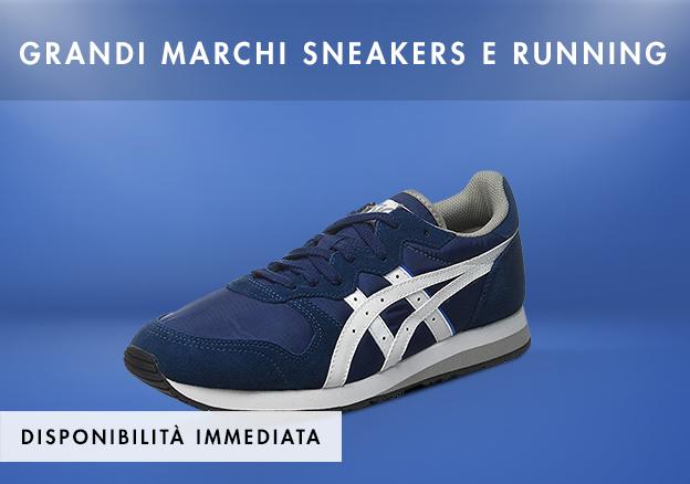 Grandi marchi sneakers e running