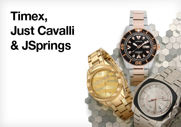 Timex, Just Cavalli & JSprings