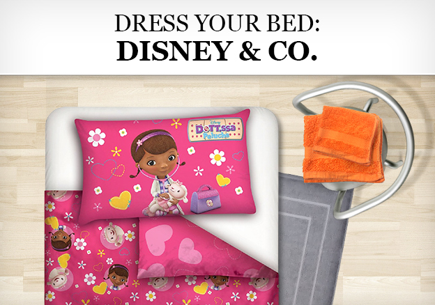 Dress your Bed: Disney & Co