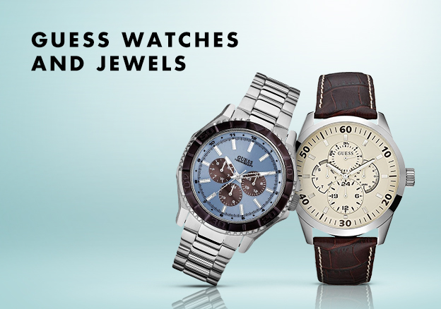 Guess Watches and Jewels!