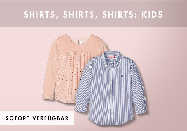 Shirts, shirts, shirts: Kids
