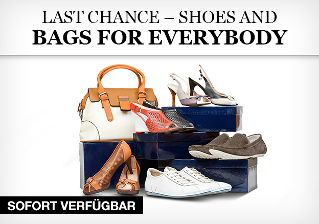 Last chance – shoes and bags for everybody