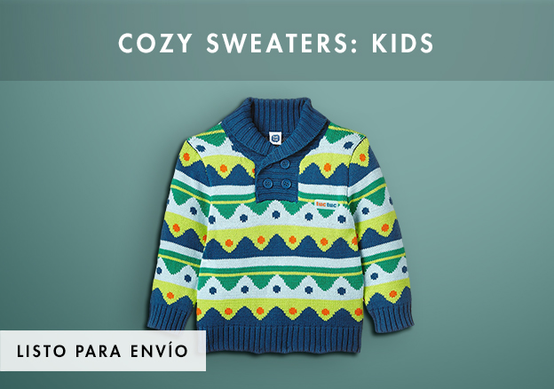 Cozy sweaters: Kids