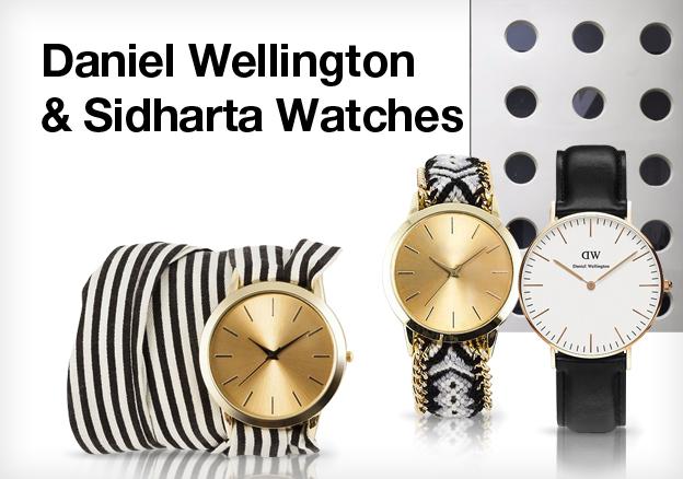 Daniel Wellington & Sidharta Watches