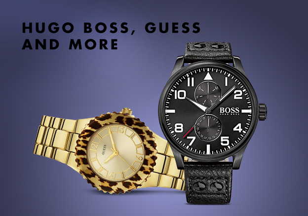 Hugo Boss, Guess & more