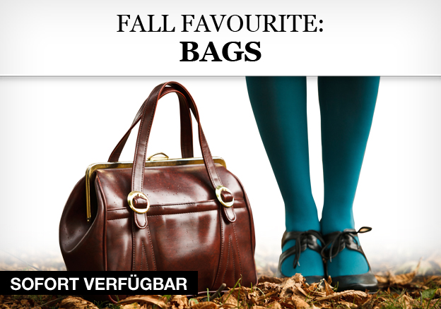 Fall favourite: bags