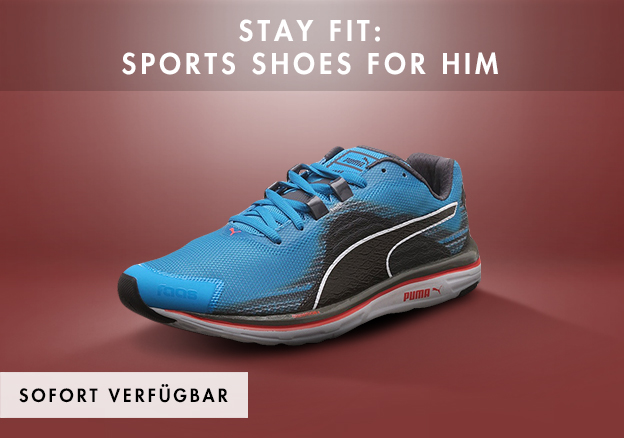 Stay fit: Sports shoes for him