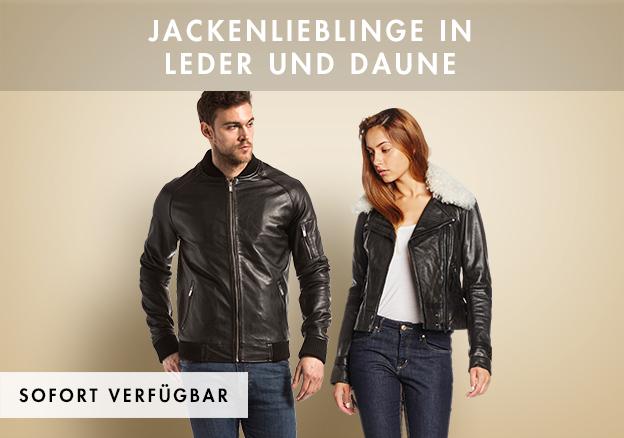 Jackenlieblinge in Leder und Daune!
