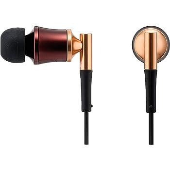 【ハイレゾ対応】ハイレゾ音源に対応したコスパに優れた金管楽器をモチーフにした美しいデザインのイヤホン。