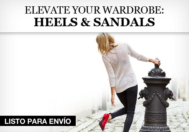 Elevate Your Wardrobe: Heels & Sandals