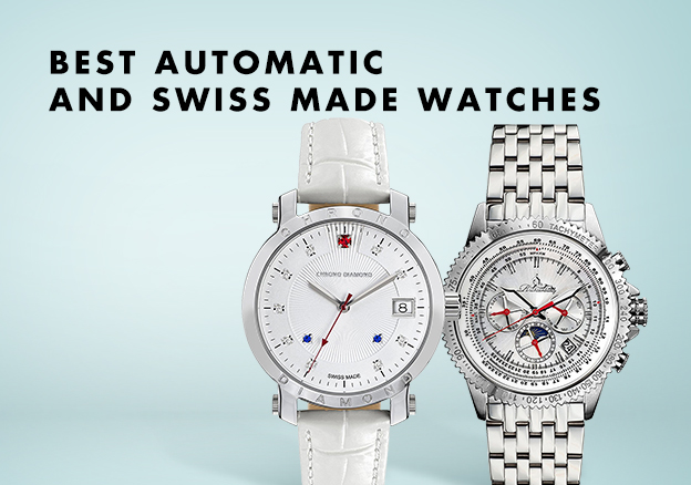 Best Automatic & Swiss Made Watches!