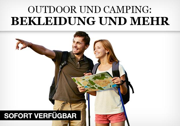 Outdoor und Camping: Bekleidung und mehr
