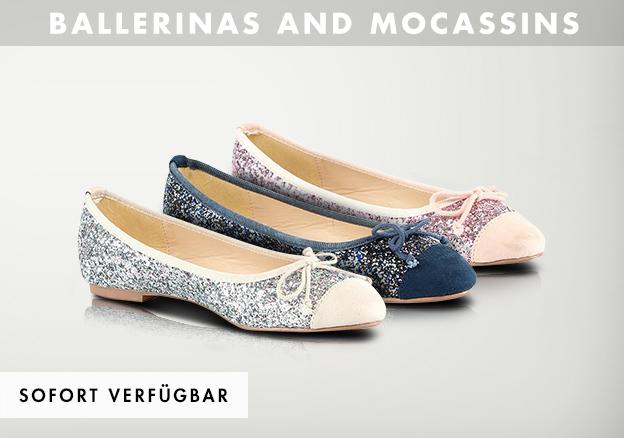 Ballerinas & Moccasins