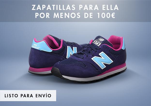 Zapatillas para ella por menos de 100 Euro!