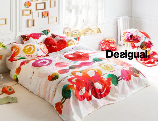 Masm rebajas ropa de cama desigual living hasta el jueves 22 - Desigual ropa de cama ...
