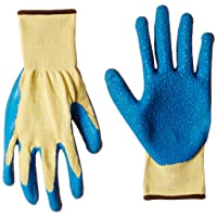 Safety gloves with rubber lining