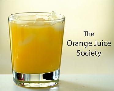 Стакан апельсинового сока .... с водкой.