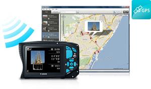 Canon PowerShot D20 GPS at Amazon.com