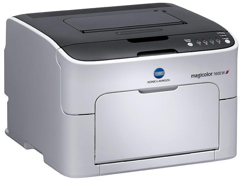 Details about Brand New Konica Minolta Magicolor 1600W Standard Color Laser  Printer 20ppm NIB