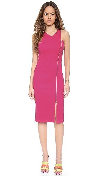 5Th & Mercer Crossover Dress - Hot Pink