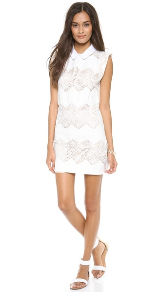 Lover Chelsea Shift Dress - White