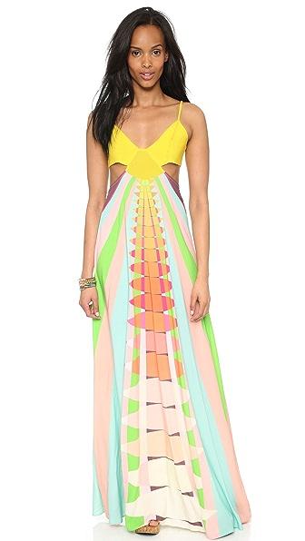 Mara Hoffman Cutout Maxi Dress - Beams Yellow
