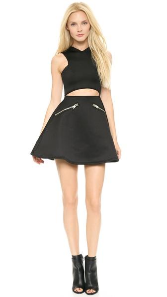 Unif Loft Dress - Black