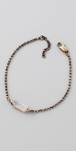 Low Luv x Erin Wasson Mini Crystal Station Bracelet