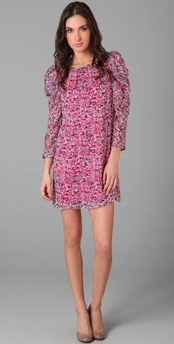 Tibi Brooke Easy Ruffle Dress