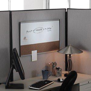"""Amazon.com : Quartet Arc Cubicle Combination Board, 30"""" x"""