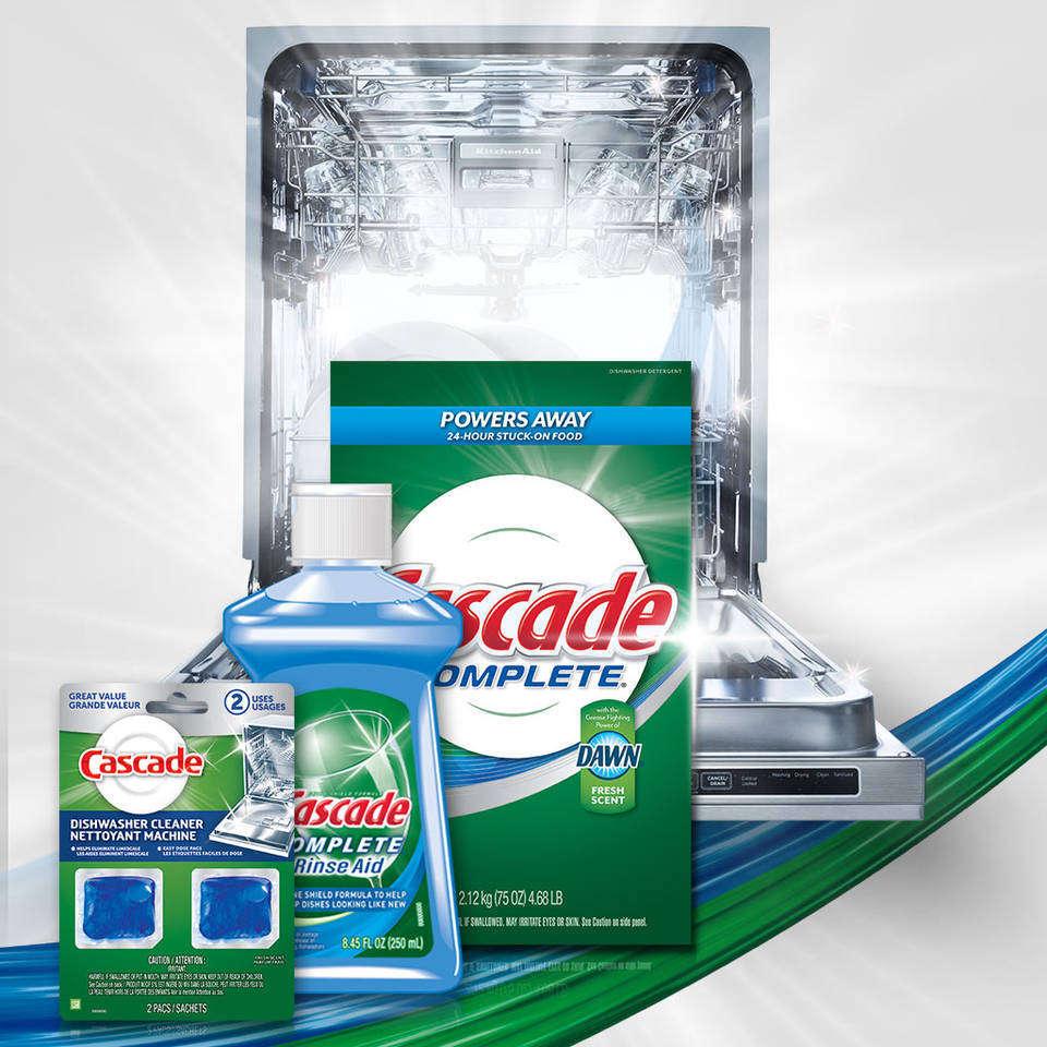 Amazon.com: Cascade Complete All-In-1 Powder Dishwasher