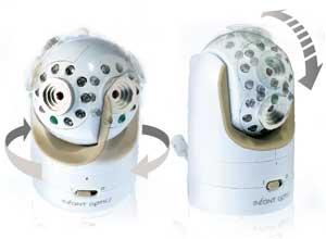 DXR-8 lens range of motion illustration