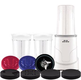 Big Boss Multi Blender 15-Piece Hi Speed 300-Watt Personal Countertop Blender Mixing System Product Shot