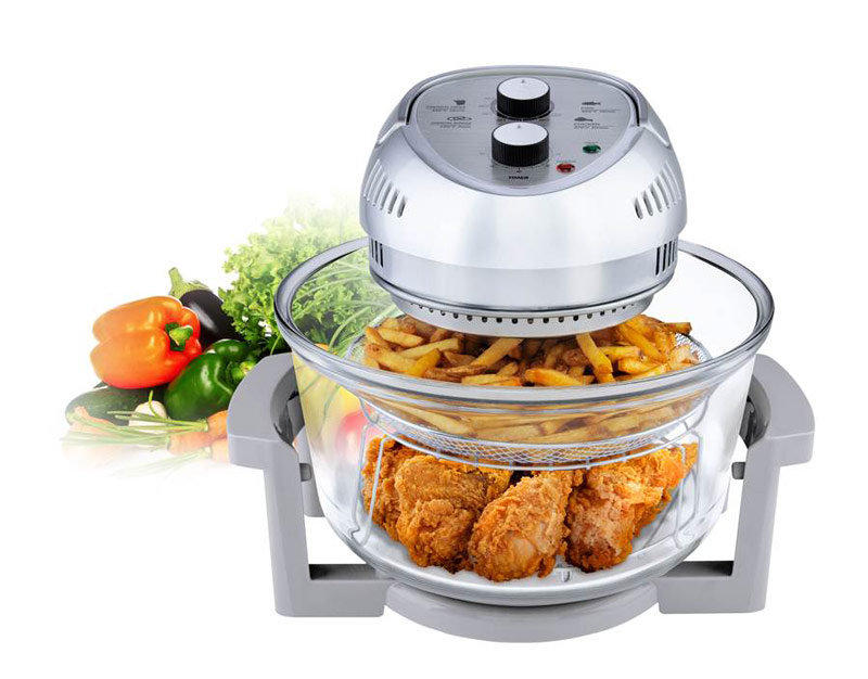 Amazon.com: BIG BOSS 1300-Watt Oil-Less Fryer, 16-Quart