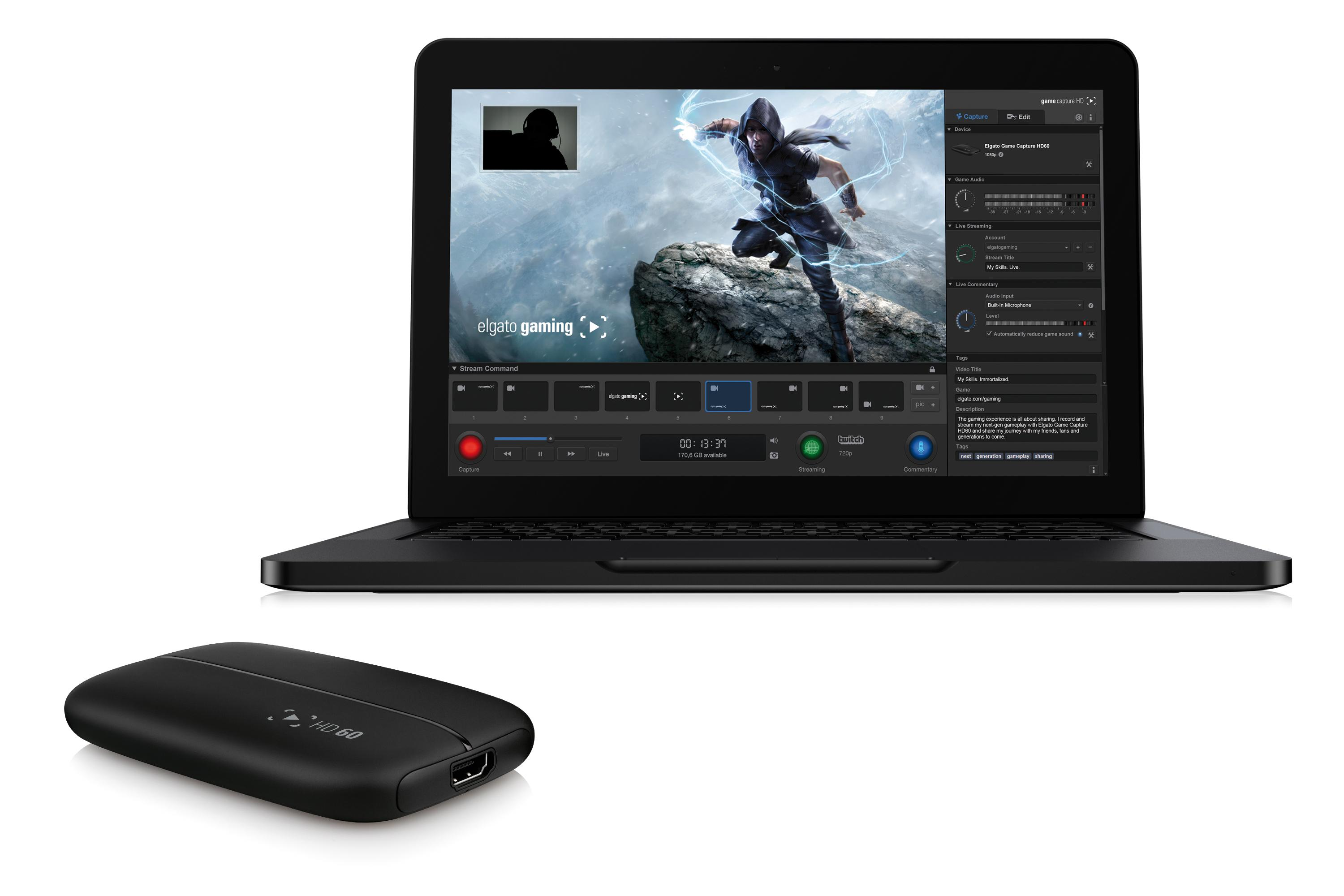 Game capture hd60 pro video 01