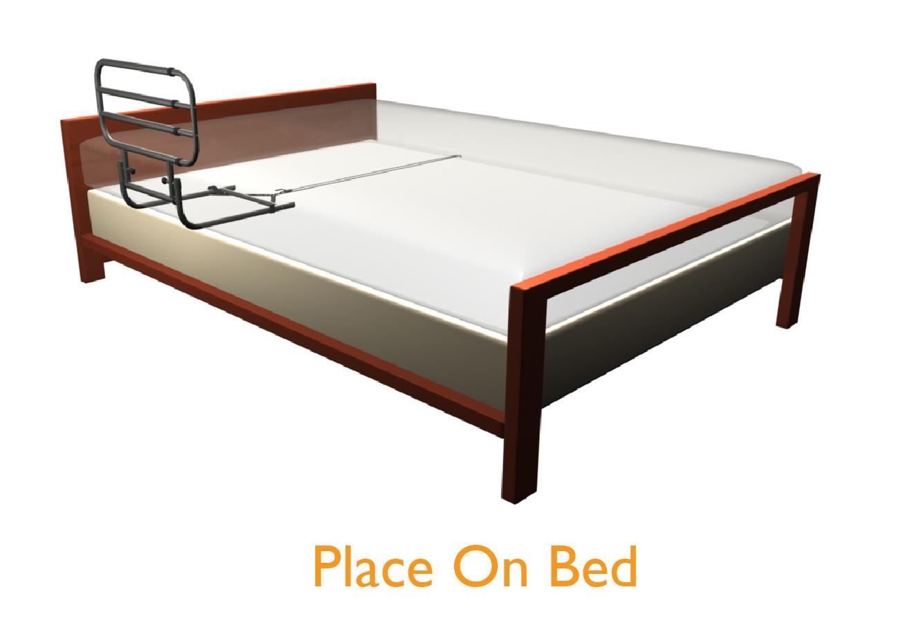 Amazon.com: Stander EZ Adjust & Pivoting Home Bed Rail + 3 ...