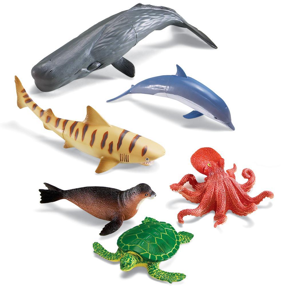 Amazon.com: Learning Resources Jumbo Ocean Animals: Toys ...