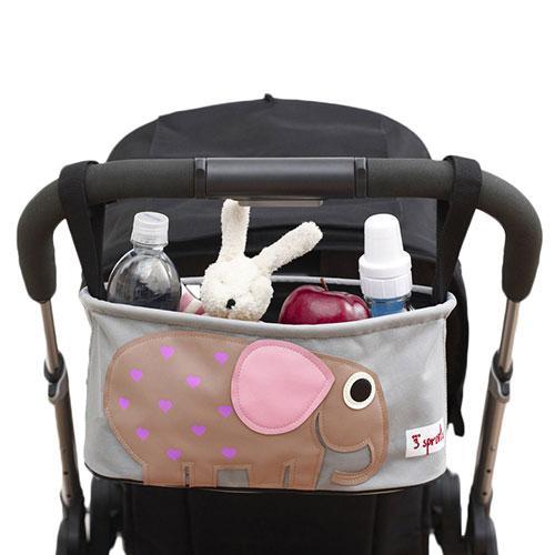 Amazon.com : 3 Sprouts Stroller Organizer, Elephant : Baby
