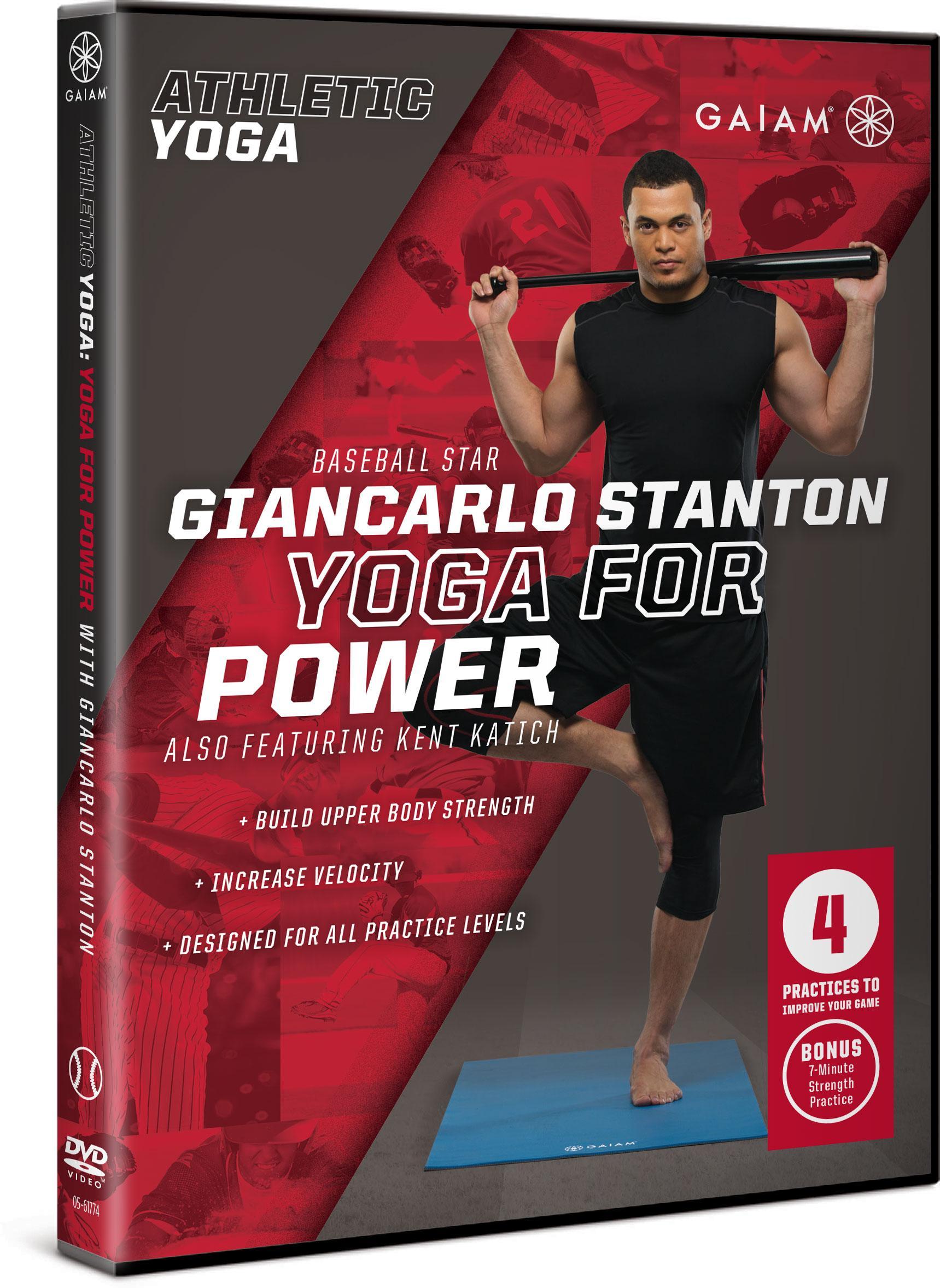 Amazon.com: Gaiam Athletic Yoga: Yoga for Power with