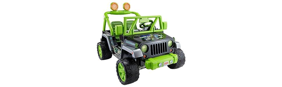 Amazon.com: Power Wheels Teenage Mutant Ninja Turtle Jeep
