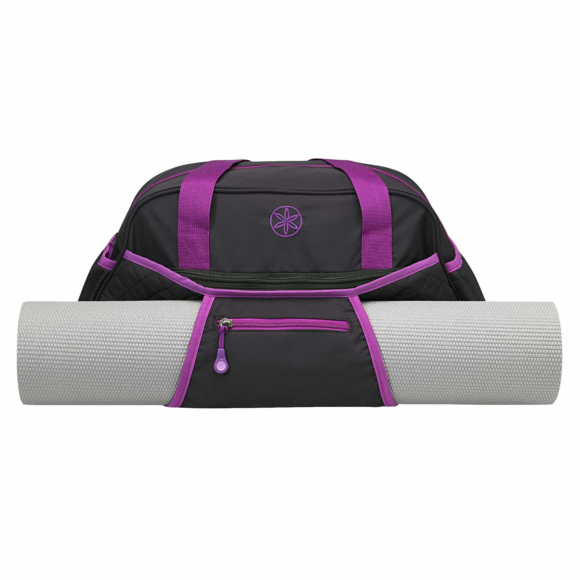 Amazon.com : Gaiam Yoga Duffle Bag, Black : Sports & Outdoors